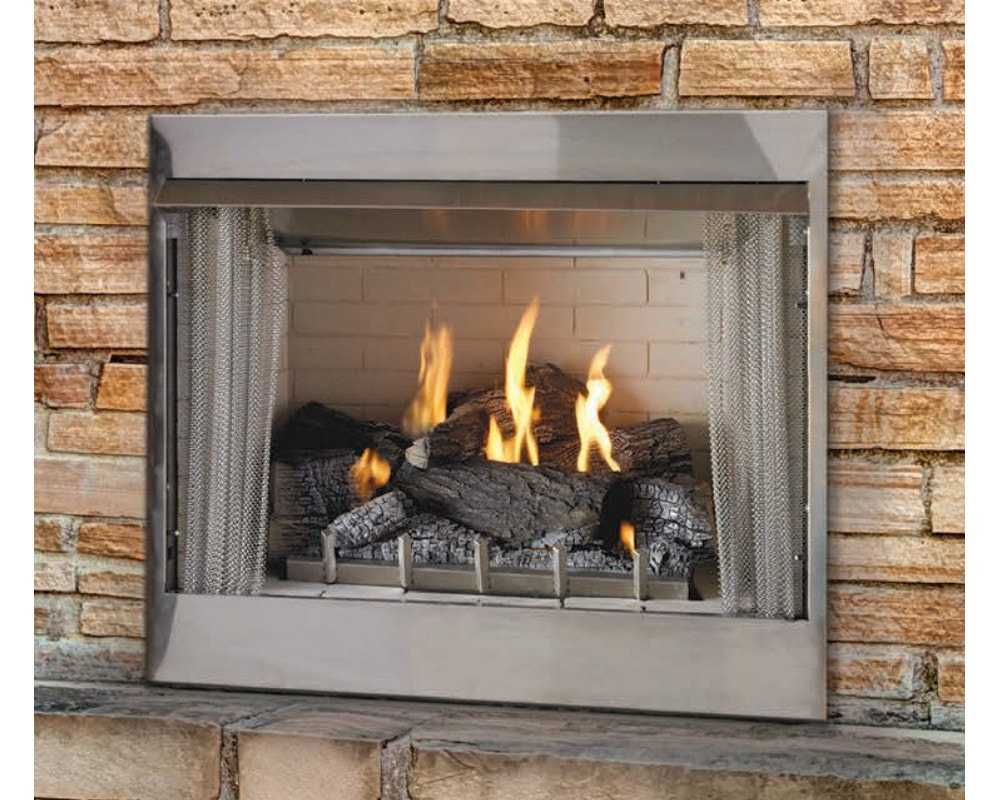 Gas Outdoor Fireplaces