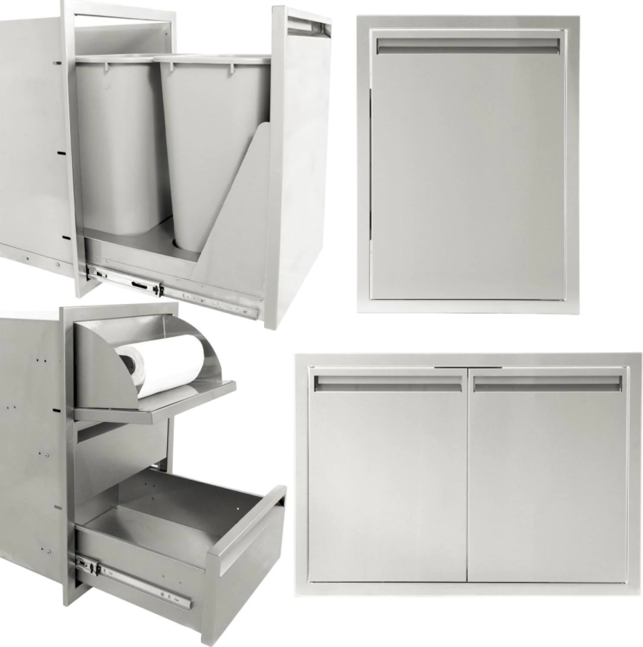 Outdoor Kitchen Cabinetry Packages
