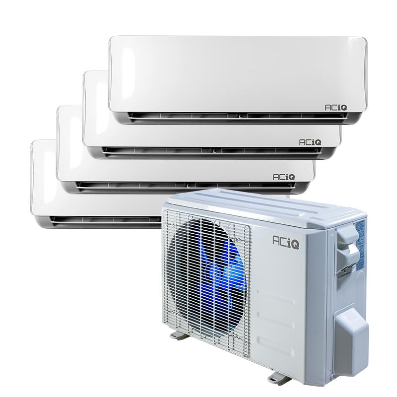 ACiQ 4 Zone Mini-Split Systems