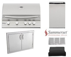 Complete Outdoor Kitchen Grill Packages