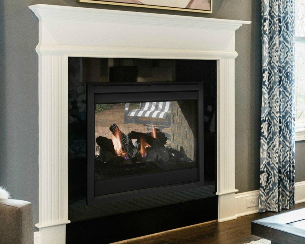 Indoor To Outdoor Fireplaces