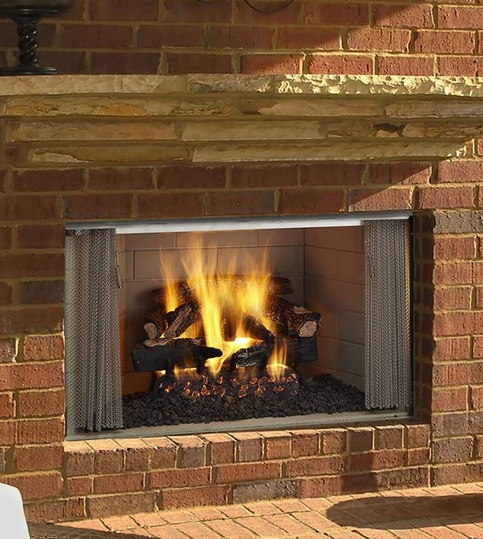 Wood Burning Outdoor Fireplaces