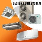Daikin Design Your Own Quad Zone Heat Pump System
