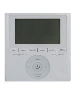 Carrier Wall Mounted Wired Remote Control with 7 day Programmable Schedule