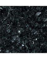 HPC 1/4 Inch Black Fire Glass - 10 Pounds - FPGLBLACK
