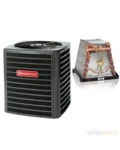 1.5 Ton 14 SEER Goodman Air Conditioner with ADP Mobile Home Coil