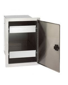 """Fire Magic Legacy Single Door with Dual Drawers - 20½""""h x 14½""""w x 20½""""d - 23820-S"""