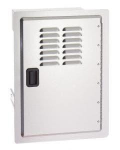 Fire Magic Legacy Single Access Door w/Tank Tray & Louvers - 23920-1T-S