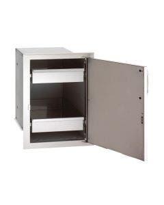 "Fire Magic Select 21""h x 14½""w  Single Door w/Dual Drawers Left Hinge - 33820-SL"