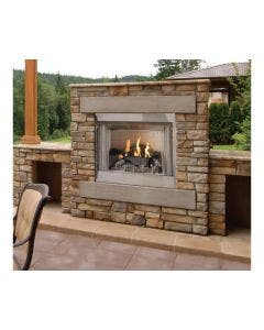 Empire Outdoor 42 Inch Vent Free Fireplace With Electronic Ignition - OP42FP72M