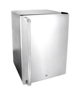Blaze 20-Inch 4.5 Cu Ft. Compact Refrigerator With Recessed Handle With Optional Stainless Steel Hinged Door Upgrade