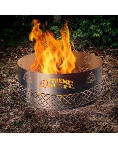 """Extreme Fire """"Celtic Symbols"""" Steel Fire Ring - 50005"""