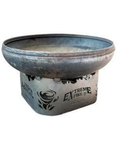 Extreme Fire Wild Fire Wood Burning Fire Pit Bowl - unpainted steel
