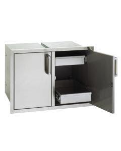 "Fire Magic Premium 21""h x 14½""w x 20½""d Single Door with Dual Drawers - 53930SC-22"