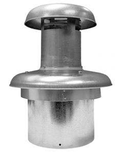 """Style Crest Revolv Roof Jack 0/12 Pitch, 15""""- 23"""" Extension"""