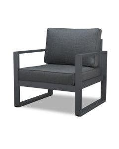 Real Flame Baltic Chair Set (2 Chairs) Gray - 9611-GRY