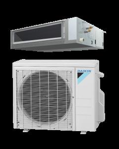 12,000 BTU 18 SEER Concealed Duct Daikin Mini-Split Aurora Single Zone Heat Pump - FDMQ12RXL