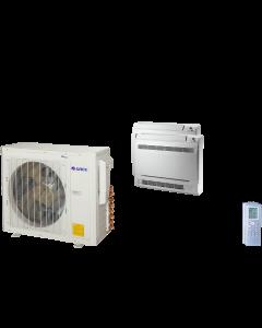 18,000 BTU 22 SEER Dual Zone Mini Console Gree Heat Pump System 9+9