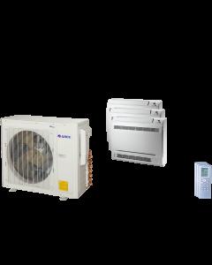 24,000 BTU 21 SEER Tri Zone Mini Console Gree Heat Pump System 9+9+9
