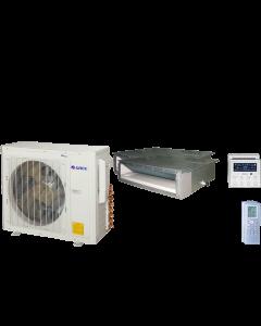 18,000 BTU 16 SEER Dual Zone Concealed Duct Gree Heat Pump System 9+9