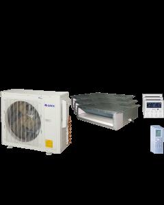 24,000 BTU 16 SEER Tri Zone Concealed Duct Gree Heat Pump System 9+9+9