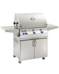 Fire Magic Aurora A660s 30-Inch Freestanding Gas Grill With Analog Thermometer And Single Side Burner - A660s-7EAP-62/7EAN-62