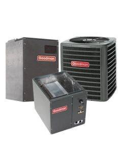 1.5 Ton 15 SEER Goodman Heat Pump Variable Speed Air Conditioner System - Upflow/Downflow