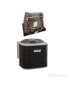 AirQuest 2 Ton 14 SEER Air Conditioner with ADP Mobile Home Coil