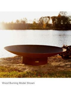 Fire Pit Art Gas Fire Pit- Asia- 72 Inch