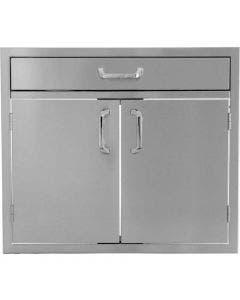 BBQ Direct Universal 30-Inch Double Door & Single Drawer Combo