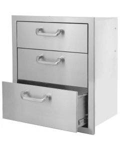 BBQ Direct Universal 16-Inch Triple Access Drawer