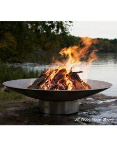 Fire Pit Art Gas Fire Pit- Bella Vita 34 Inch