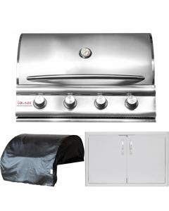 Blaze 3-Piece 32-Inch Gas Outdoor Kitchen Package