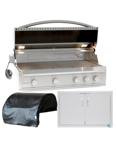 Blaze Professional 3-Piece 44-Inch Natural Gas Outdoor Kitchen Package
