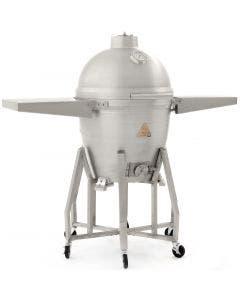 Blaze 20-Inch Cast Aluminum Kamado Grill with Cart - BLZ-20-KAMADO / BLZ-20KMDO2-CART