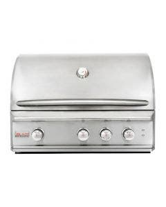 Blaze Professional 34-Inch 3-Burner Built-In Gas Grill With Rear Infrared Burner - BLZ-3PRO
