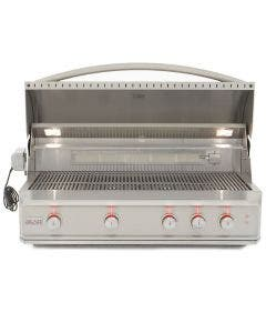 Blaze Professional 44-Inch 4-Burner Built-In Gas Grill With Rear Infrared Burner - BLZ-4PRO