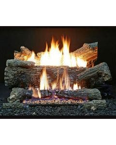 Buck Stove Ember Vision Oak Vent Free Gas Log Set - EV100 Oak