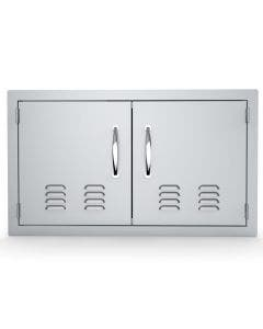 Sunstone Classic 30-Inch Vented Double Door Flush Mount - C-DD30- Front View