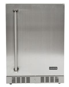 Coyote 24-Inch 5.5 Cu. Ft. Outdoor Rated Compact Refrigerator - C1BIR24 - Right Hinge