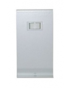 Qmark Heater Line Voltage Thermostat, Snap Action, Double-Pole, 22 Amp, 120V-240V, White - MD26