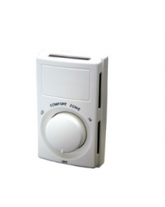 Qmark Double Pole Wall Mount Thermostat - M602W