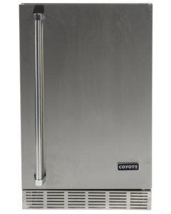 Coyote 21-Inch 4.1 Cu. Ft. Outdoor Rated Compact Refrigerator - CBIR - Left Hinge