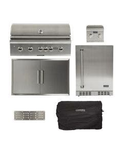 Coyote 6-Piece 42-Inch Grill Kitchen Package