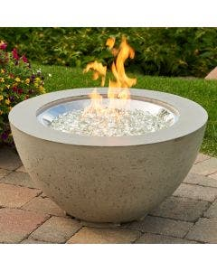 The Outdoor Greatroom Cove 20-Inch Gas Fire Pit Bowl - CV-20