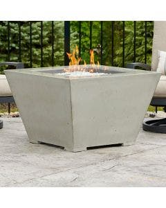 The Outdoor Greatroom Cove 37-Inch Square Gas Fire Pit Bowl - CV-2424