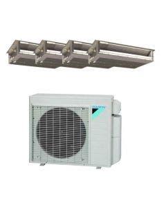 Daikin 36,000 BTU 17.7 SEER Quad Zone Heat Pump System 9+9+12+12 - Concealed Duct