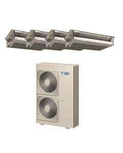 Daikin 48,000 BTU 18.8 SEER Quad Zone Heat Pump System 15+15+15+15 - Concealed Duct
