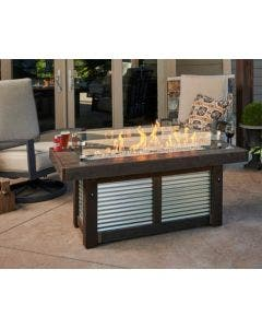 The Outdoor Greatroom Denali Brew Linear Gas Fire Pit Table - DENBR-1242