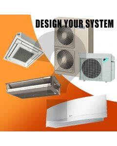 Daikin Design Your Own Tri Zone Heat Pump System